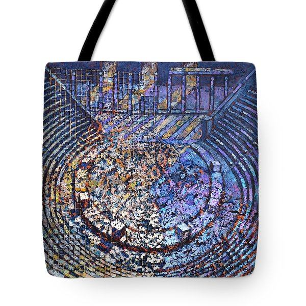 Arena Song Tote Bag by Mark Howard Jones