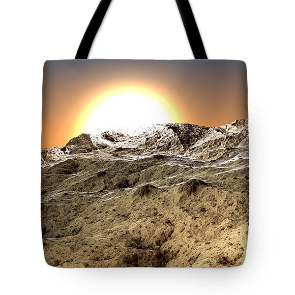 Arid Tote Bag by Kevin Trow