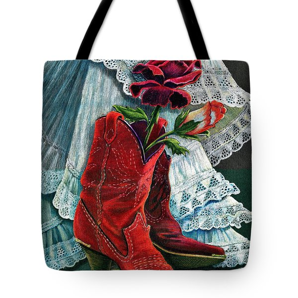 Arizona Rose Tote Bag by Marilyn Smith