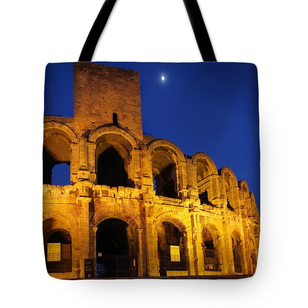 Arles Roman Arena Tote Bag by Inge Johnsson