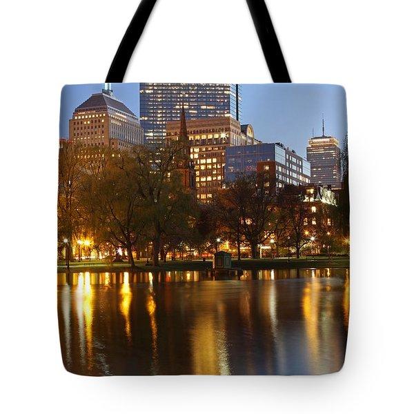 Arlington Street Church Tote Bag by Juergen Roth