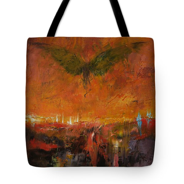 Armageddon Tote Bag by Michael Creese