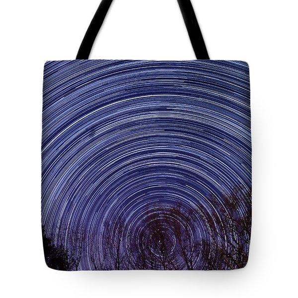 Arnold Startrails Tote Bag by Benjamin Reed