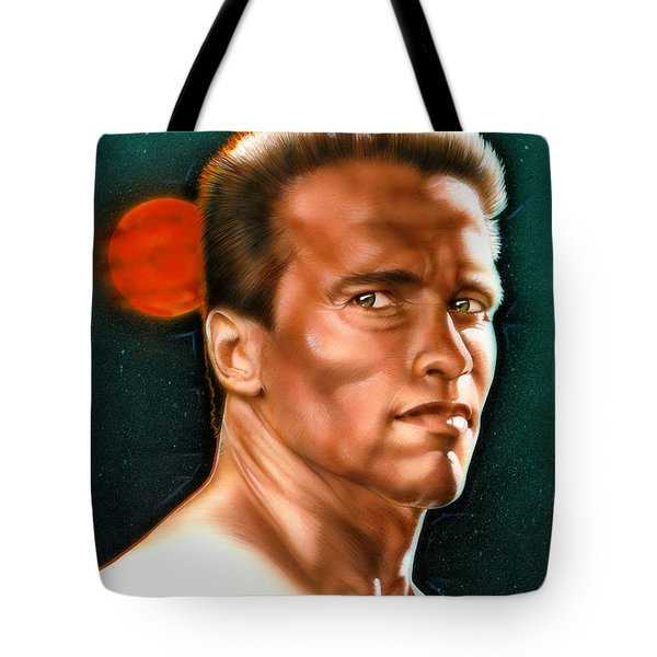 Arnold Tote Bag by Tim  Scoggins