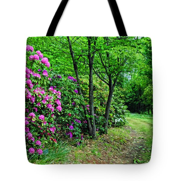 Around The Bend Tote Bag by Kenny Francis