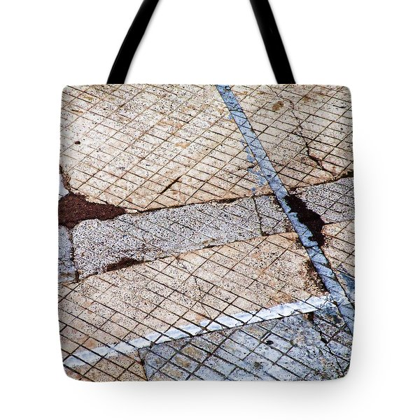 Art in the Street 3 Tote Bag by Carol Leigh