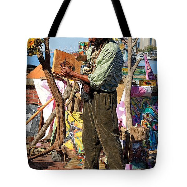 Art Is A Thing Tote Bag by Suzanne Gaff