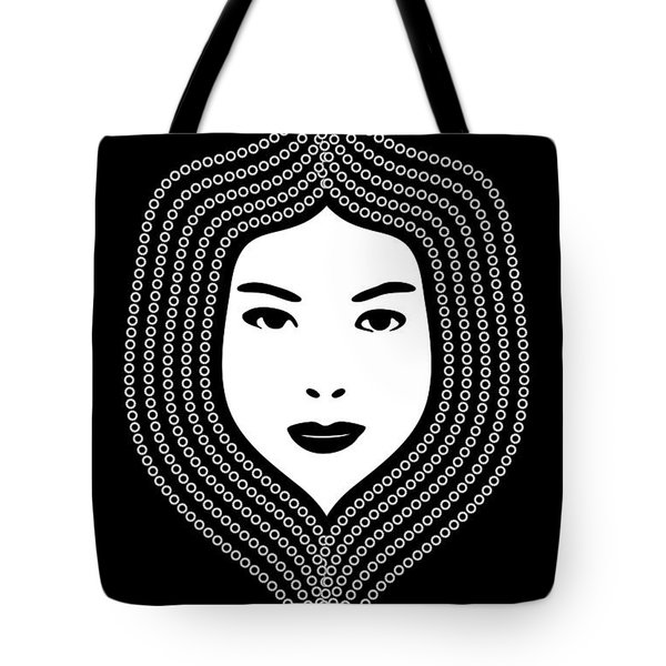 Art Nouveau Portrait 457 Tote Bag by Frank Tschakert