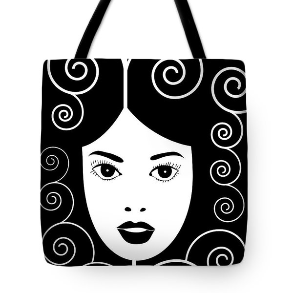 Art Nouveau Poster Tote Bag by Frank Tschakert