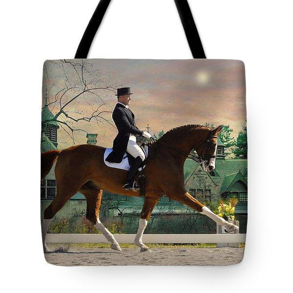 Art Of Dressage Tote Bag by Fran J Scott