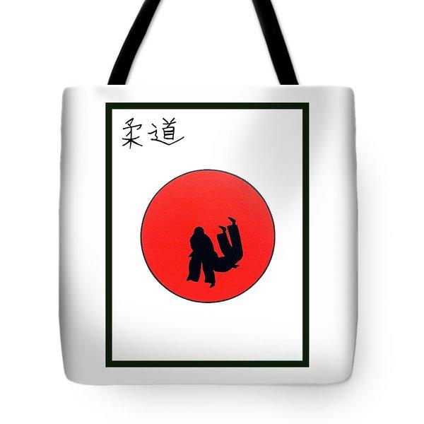 Art Of Judo Print Tote Bag by Gordon Lavender