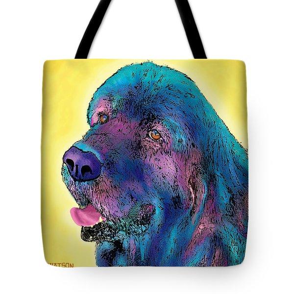 Arthur  Tote Bag by Marlene Watson