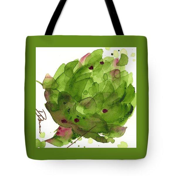 Artichoke II Tote Bag by Dawn Derman