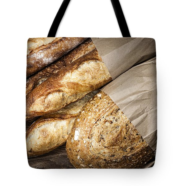 Artisan bread Tote Bag by Elena Elisseeva