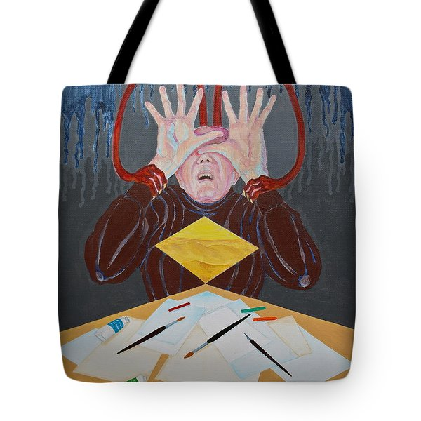 Artist Block Tote Bag by Michele Myers
