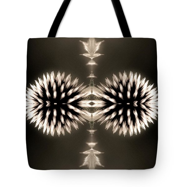 Artistic Flower Abstract Tote Bag by Don Johnson