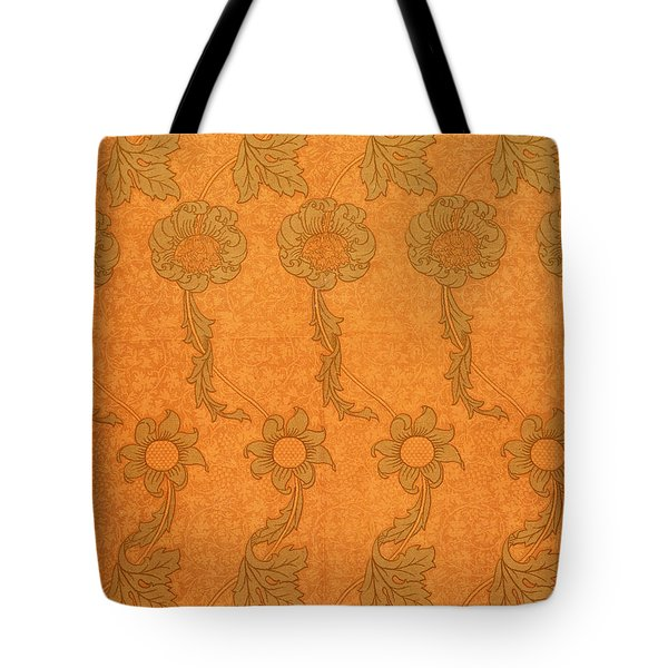 Arts And Crafts Design Tote Bag by William Morris