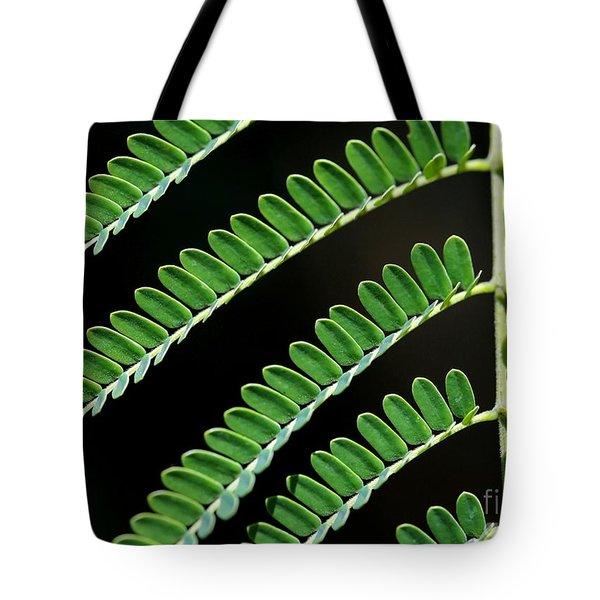 Artsy Green Tote Bag by Sabrina L Ryan