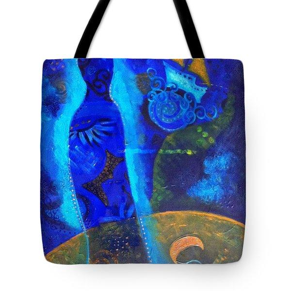 As Of Yet Untitled Dream Tote Bag by Indigo Carlton