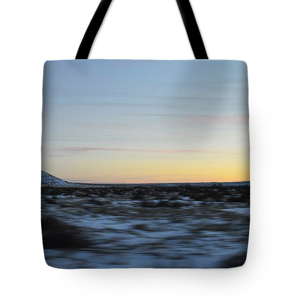 As time flies by Tote Bag by Meandering Photography