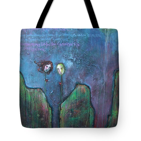 As You Wish Tote Bag by Laurie Maves ART