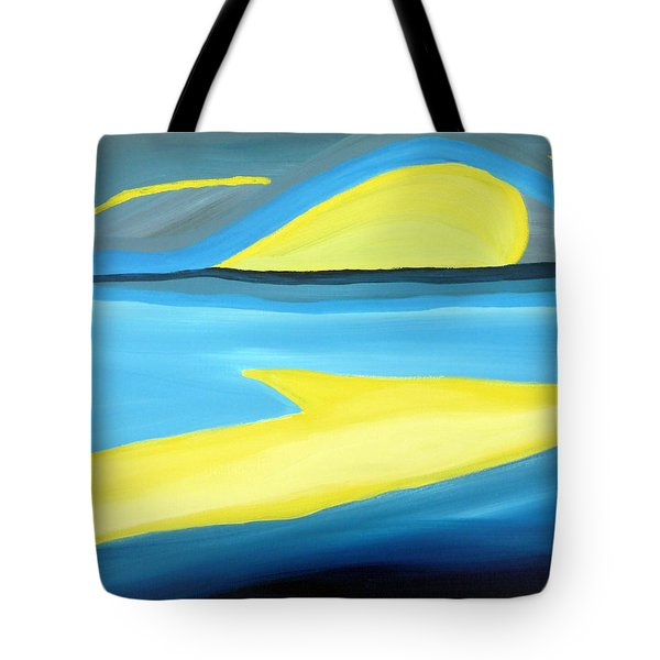 Ascending Light Into The New Dawn Of Time Tote Bag by Daina White