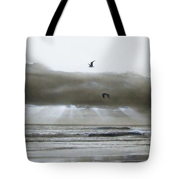 'ascension II' Tote Bag by Christian Chapman Art