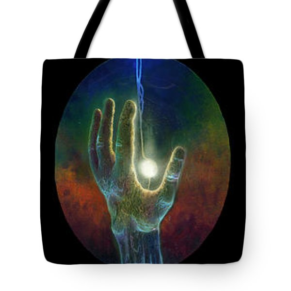 Ascension Of The Soul Tote Bag by Kd Neeley