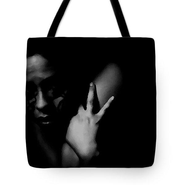 Ashamed Tote Bag by Jessica Shelton
