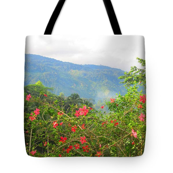 Asiatic Hibiscus Tote Bag by Tina M Wenger
