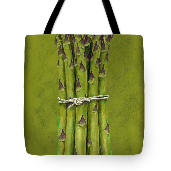 Asparagus Tote Bag by Brian James