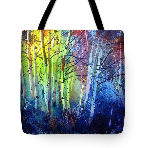 Aspen Grove Tote Bag by Kris Parins