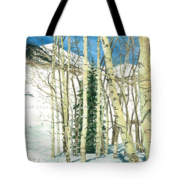Aspen Shelter Tote Bag by Barbara Jewell