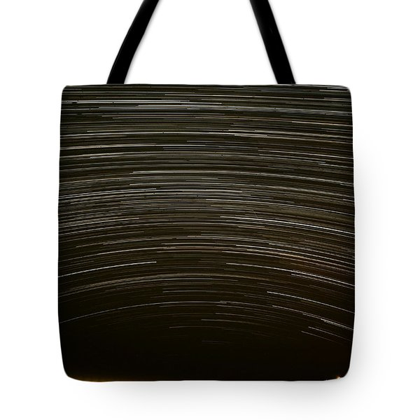 Assateague Star Trails Tote Bag by Benjamin Reed