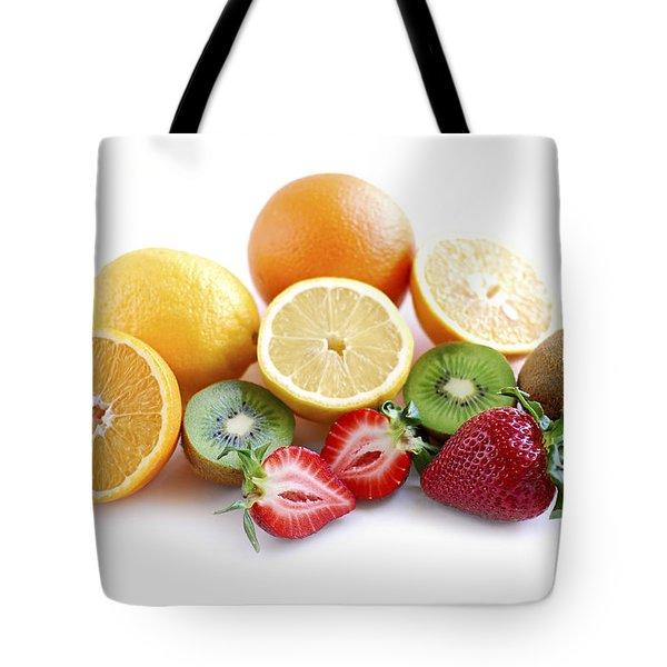 Assorted fruit Tote Bag by Elena Elisseeva