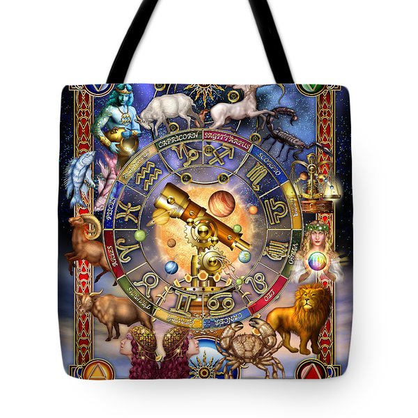 Astrology Tote Bag by Ciro Marchetti