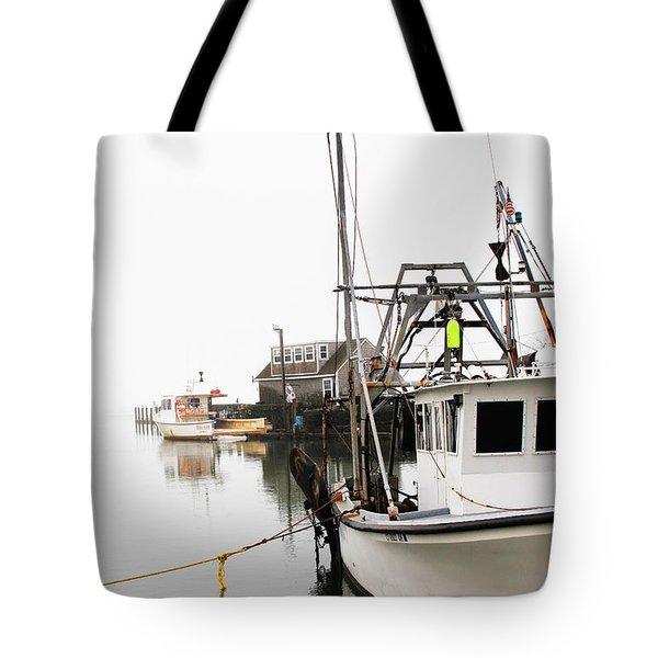 At Dock Tote Bag by Karol Livote