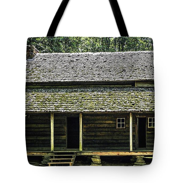 At Home in the Woods Tote Bag by Barry Jones