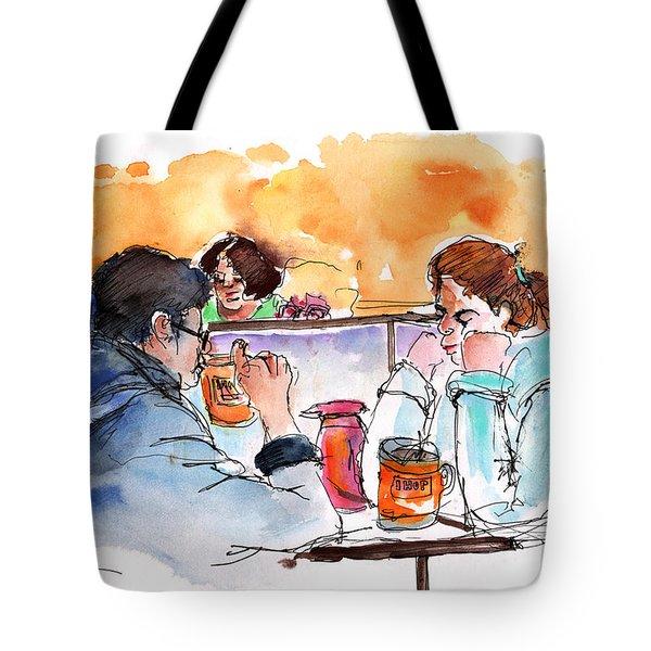 At Nashville Ihop Tote Bag by Miki De Goodaboom