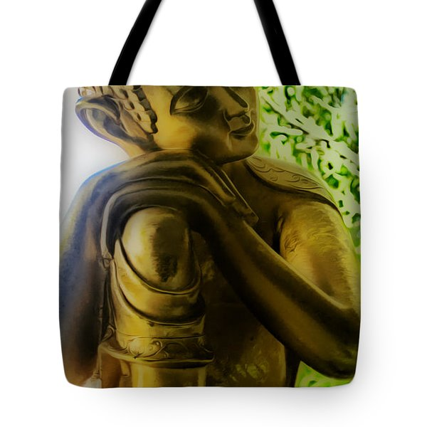 At Peace Tote Bag by Cheryl Young