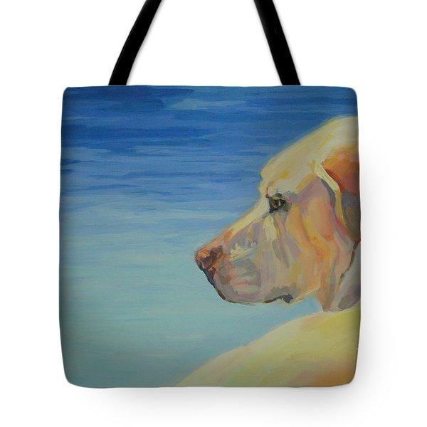 At Peace Tote Bag by Kimberly Santini