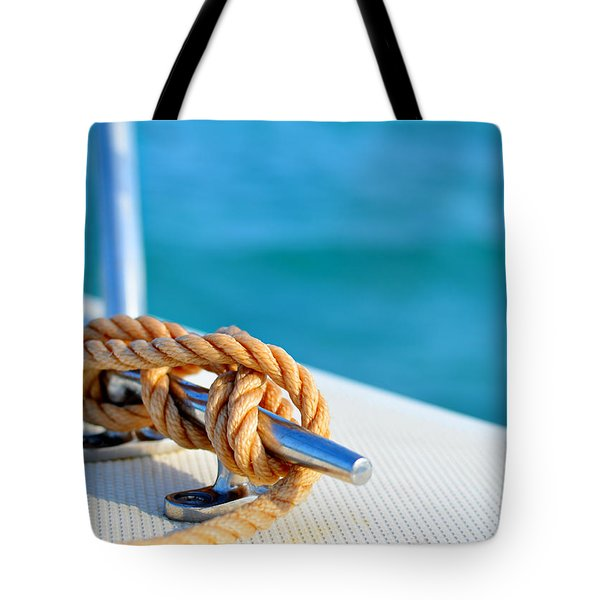 At Sea Tote Bag by Laura Fasulo