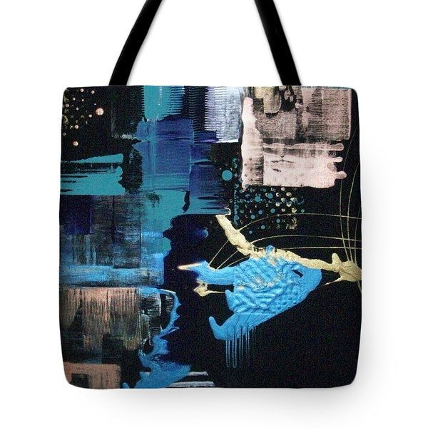 At The Edge Of Beyond Tote Bag by Charlotte Nunn