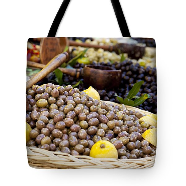 At the Market Tote Bag by Brian Jannsen