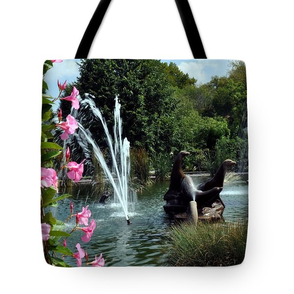 At The Zoo Tote Bag by Marty Koch
