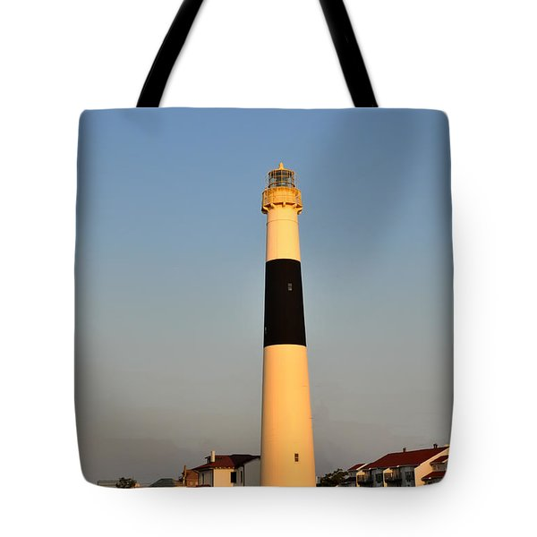 Atlantic City - Absecon Lighthouse Tote Bag by Bill Cannon