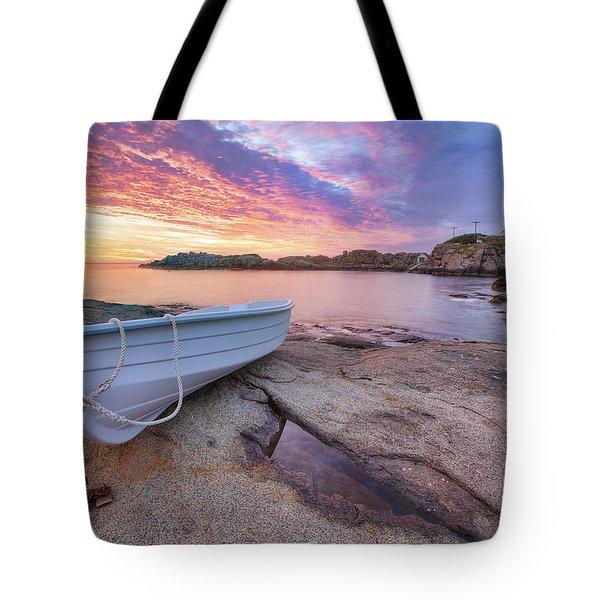 Atlantic Dawn Tote Bag by Eric Gendron