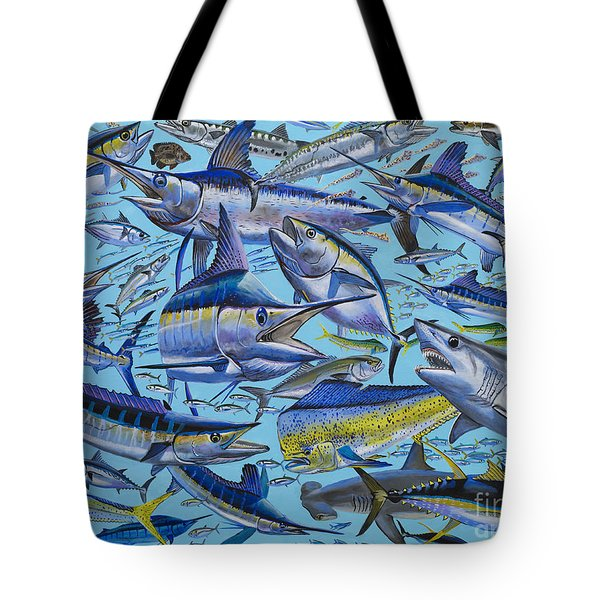 Atlantic Gamefish Off008 Tote Bag by Carey Chen