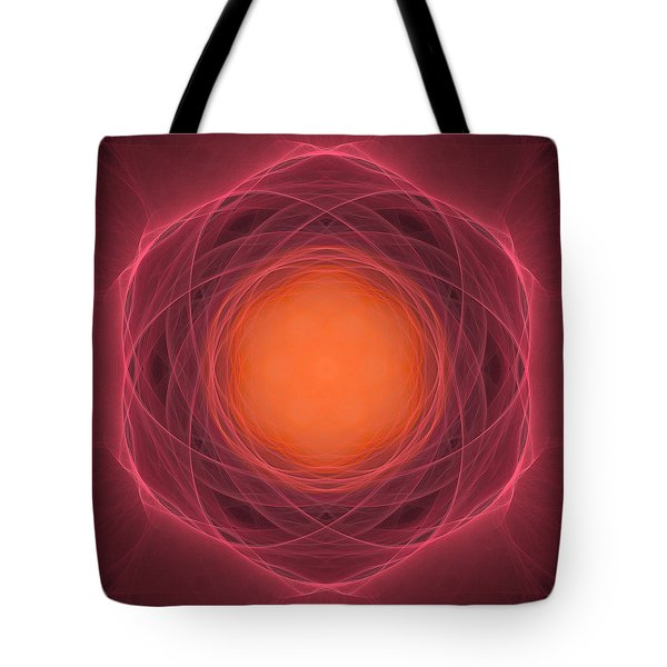 Atome-13 Tote Bag by RochVanh