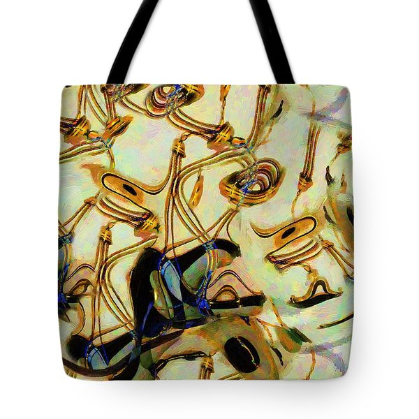 Atomsmasher Tote Bag by RC DeWinter